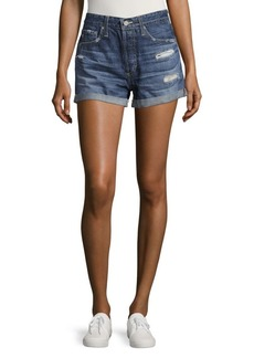 AG Adriano Goldschmied Cotton Denim Shorts
