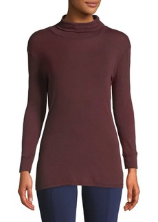 AG Adriano Goldschmied Cotton Turtleneck