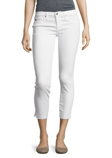 AG Adriano Goldschmied Cropped Five-Pocket Pants