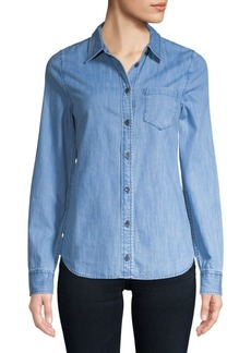 AG Adriano Goldschmied Easton Denim Button-Down Shirt
