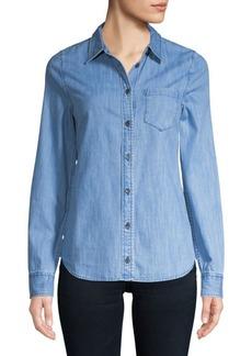 Easton Denim Button-Down Shirt