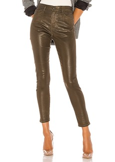 AG Adriano Goldschmied Farrah Skinny Ankle Leatherette