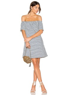 AG Adriano Goldschmied Harley Mini Dress in Blue. - size S (also in XS)