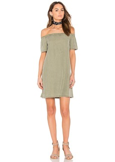 AG Adriano Goldschmied Harley Mini Dress in Green. - size L (also in M,S,XS)