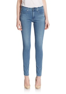 AG Adriano Goldschmied Farrah High-Rise Skinny Jeans