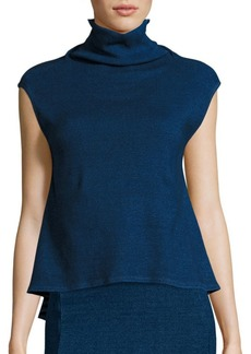 AG Adriano Goldschmied Indigo Capsule Collection By AG Rectro Turtleneck Top