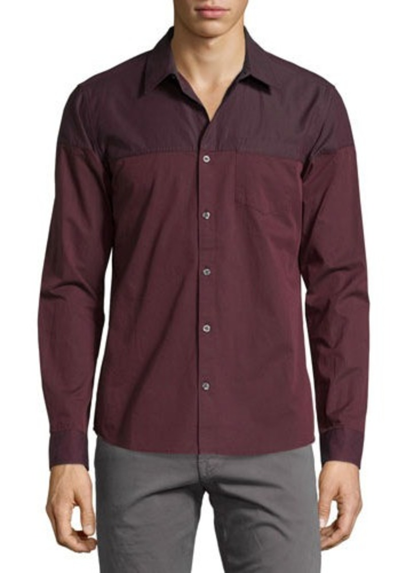 AG Adriano Goldschmied Inversion-Print Sport Shirt
