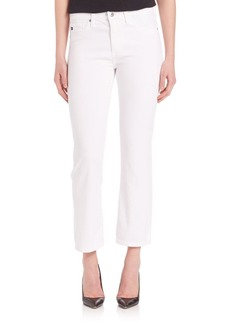 AG Adriano Goldschmied Jodi High Rise Flared Crop Jeans