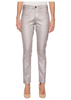AG Adriano Goldschmied Legging Ankle in Metalized Powder Pink
