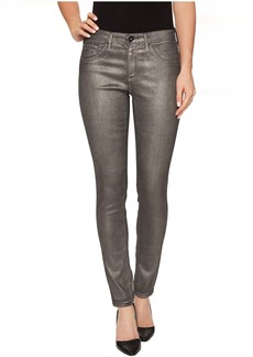 Leggings Ankle in Metalized Rich Mercury