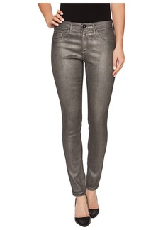 AG Adriano Goldschmied Leggings Ankle in Metalized Rich Mercury