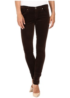 AG Adriano Goldschmied Leggings in Bordeaux Brown