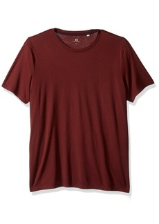 AG Adriano Goldschmied Men's Bryce Short Sleeve Crew Neck Tee deep Mahogany L