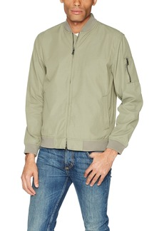 AG Adriano Goldschmied Men's Chase Long Sleeve Bomber Jacket  M
