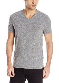 AG Adriano Goldschmied Men's Commute V Neck Tri Blend Jersey Tee in