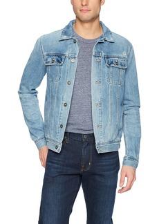 AG Adriano Goldschmied Men's Dart Long Sleeve Prime Denim Jacket  XL