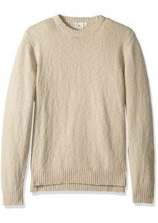 AG Adriano Goldschmied Men's Deklyn Cotton Slub Sweater Crew