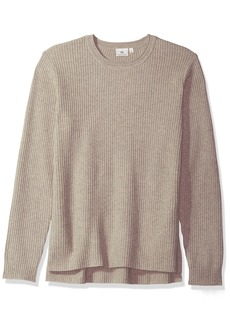 AG Adriano Goldschmied Men's Deklyn Long Sleeve Waffle SweaterL
