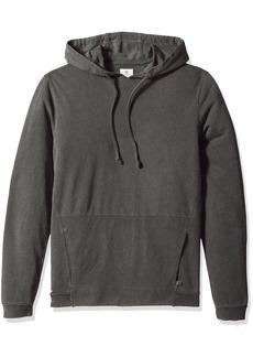 AG Adriano Goldschmied Men's Eloi Pullover in True Black Pigment