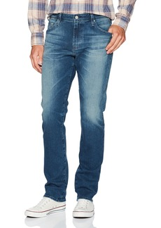 AG Adriano Goldschmied Men's Everett Slim Straight Leg 360 Denim Years snap