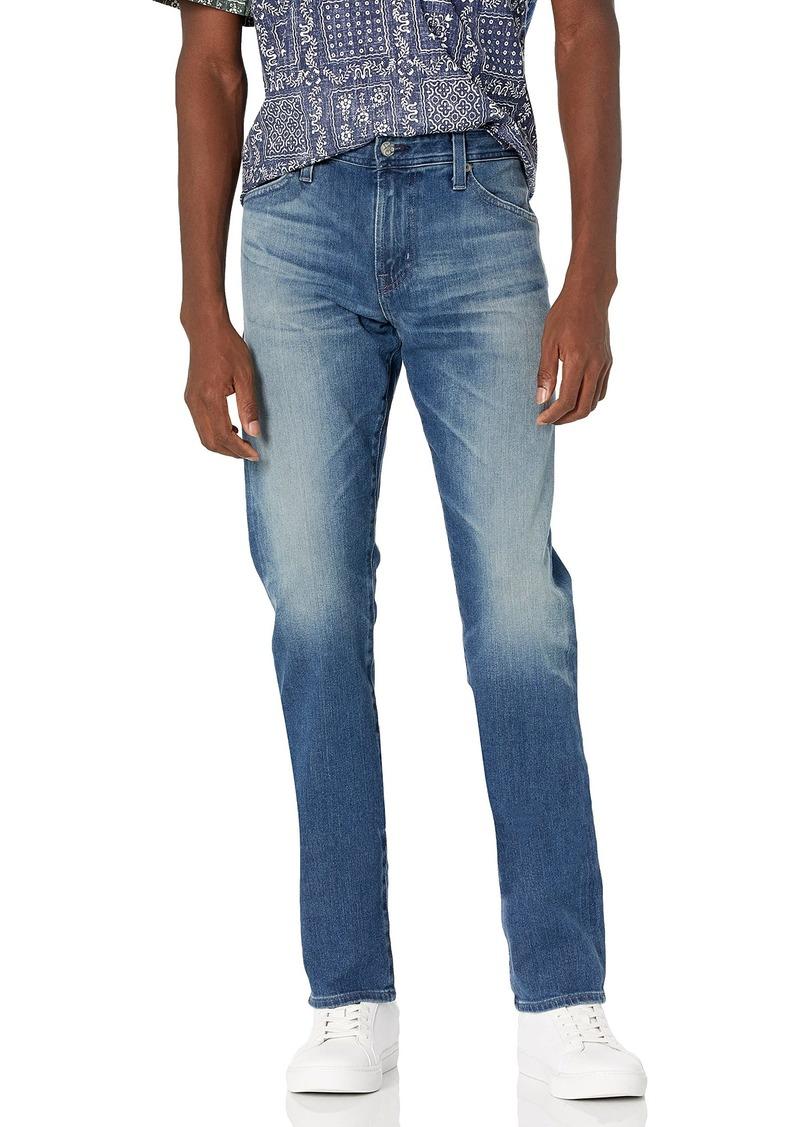 AG Adriano Goldschmied Men's Everett Slim Straight Leg 360 Denim Years snap