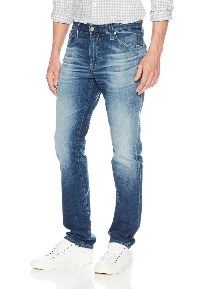 AG Adriano Goldschmied Men's Everett Slim Straight Leg in LED Denim