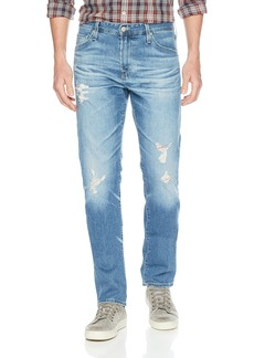 AG Adriano Goldschmied Men's Everett Slim Straight Leg in LED Denim  Up