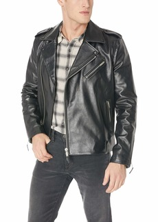 AG Adriano Goldschmied Men's Kuro Leather Jacket