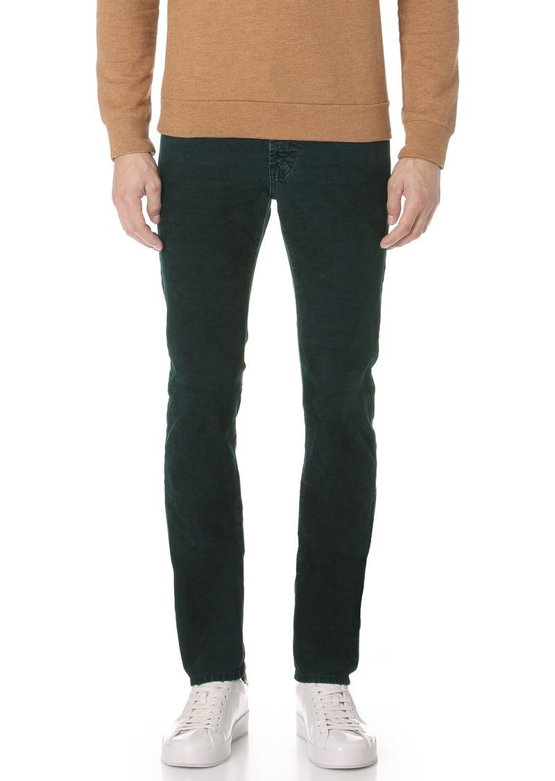 AG Adriano Goldschmied Men's Matchbox Slim Straight Leg Corduroy Pant  29W X 34L