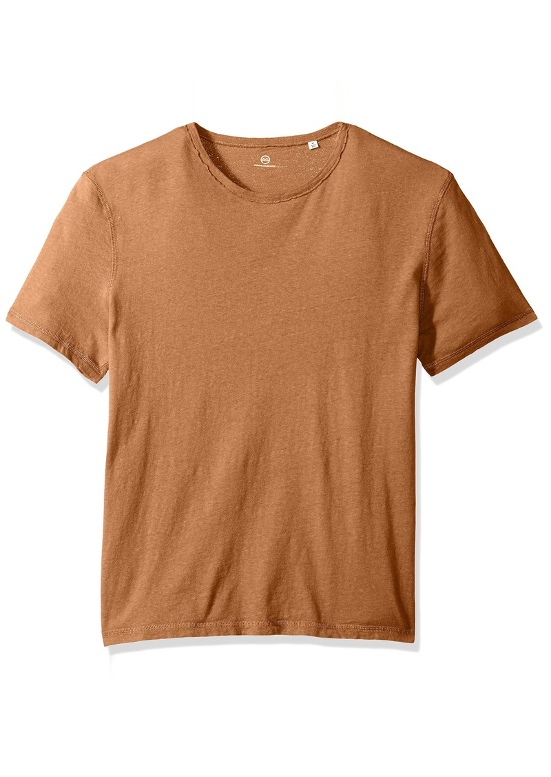 AG Adriano Goldschmied Men's Ramsey Short Sleeve Vintage Jersey Crew Weathered Dusty mesa L