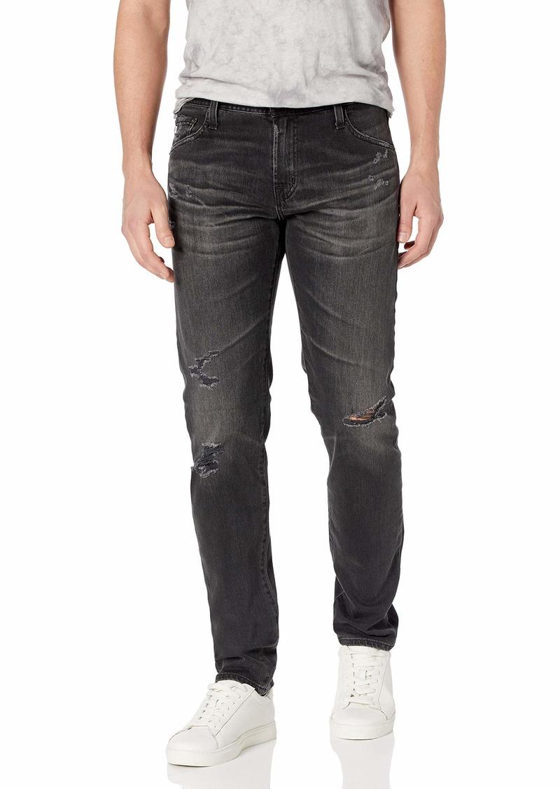 AG Adriano Goldschmied Men's Tellis Destructed Modern Slim Fit Jean