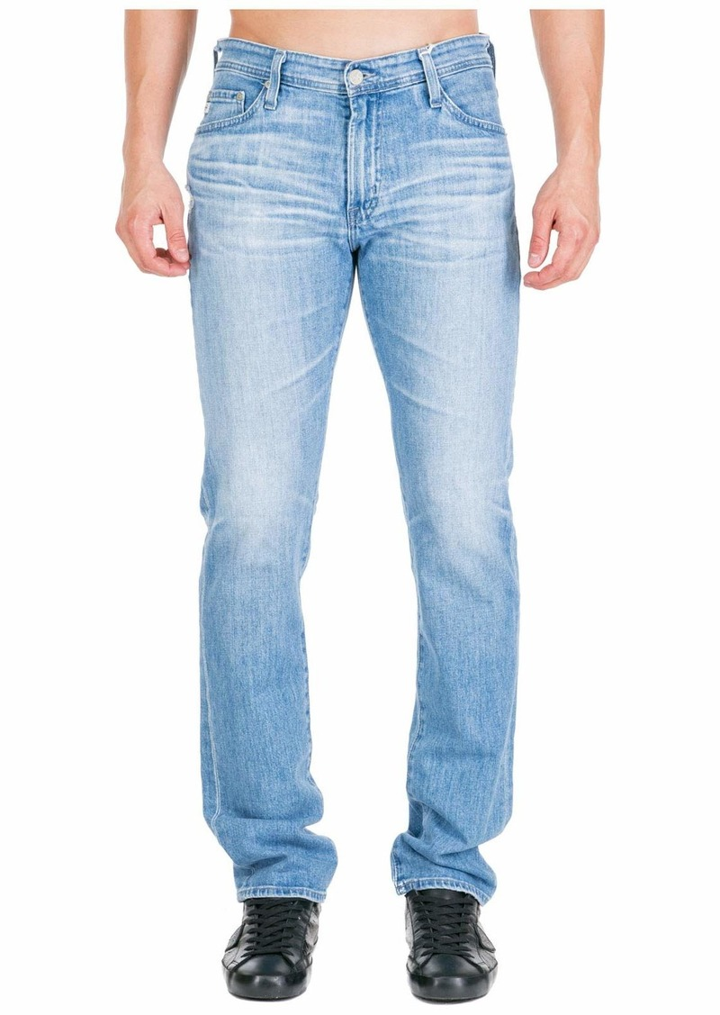 AG Adriano Goldschmied Men's The Everett Slim Straight Leg Jean in ADM Denim