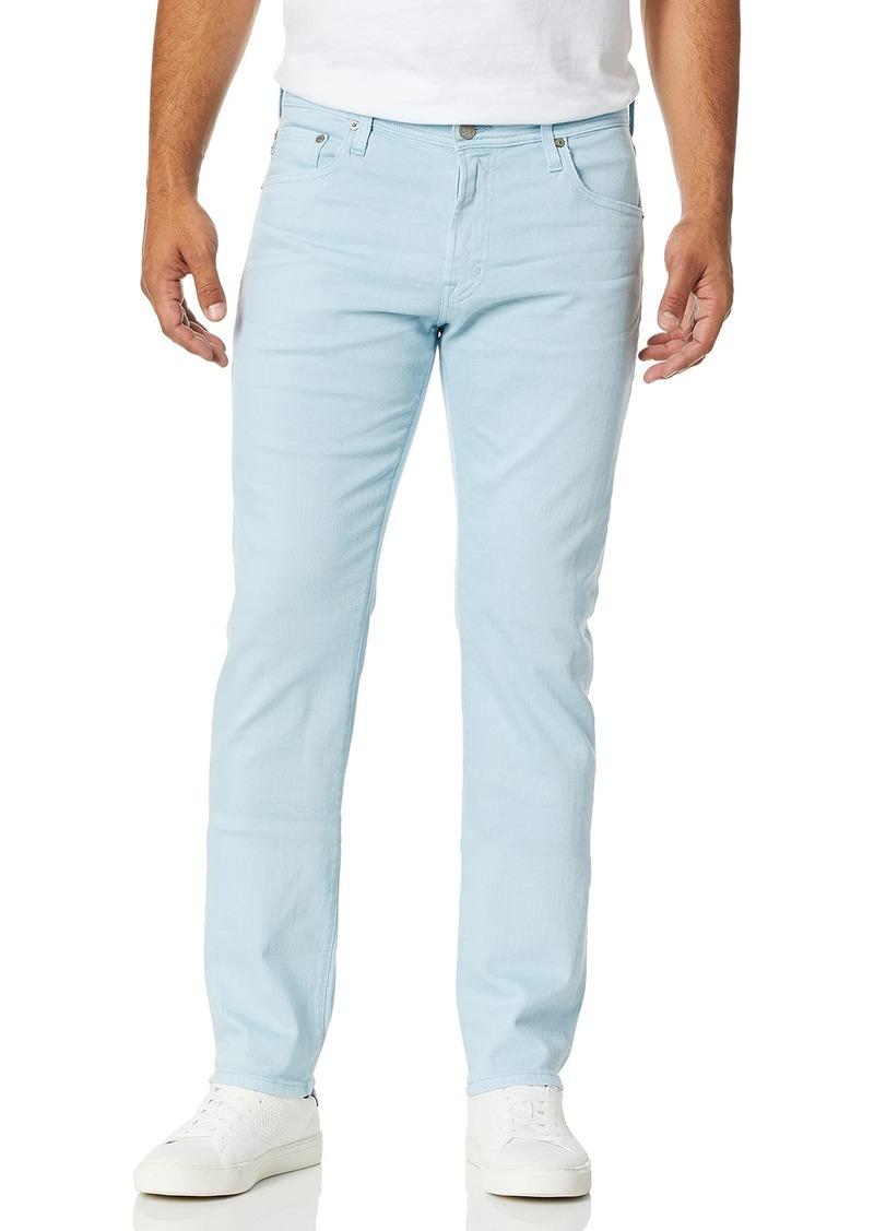 AG Adriano Goldschmied Men's The Everett Slim Straight Leg Jean in LED Denim