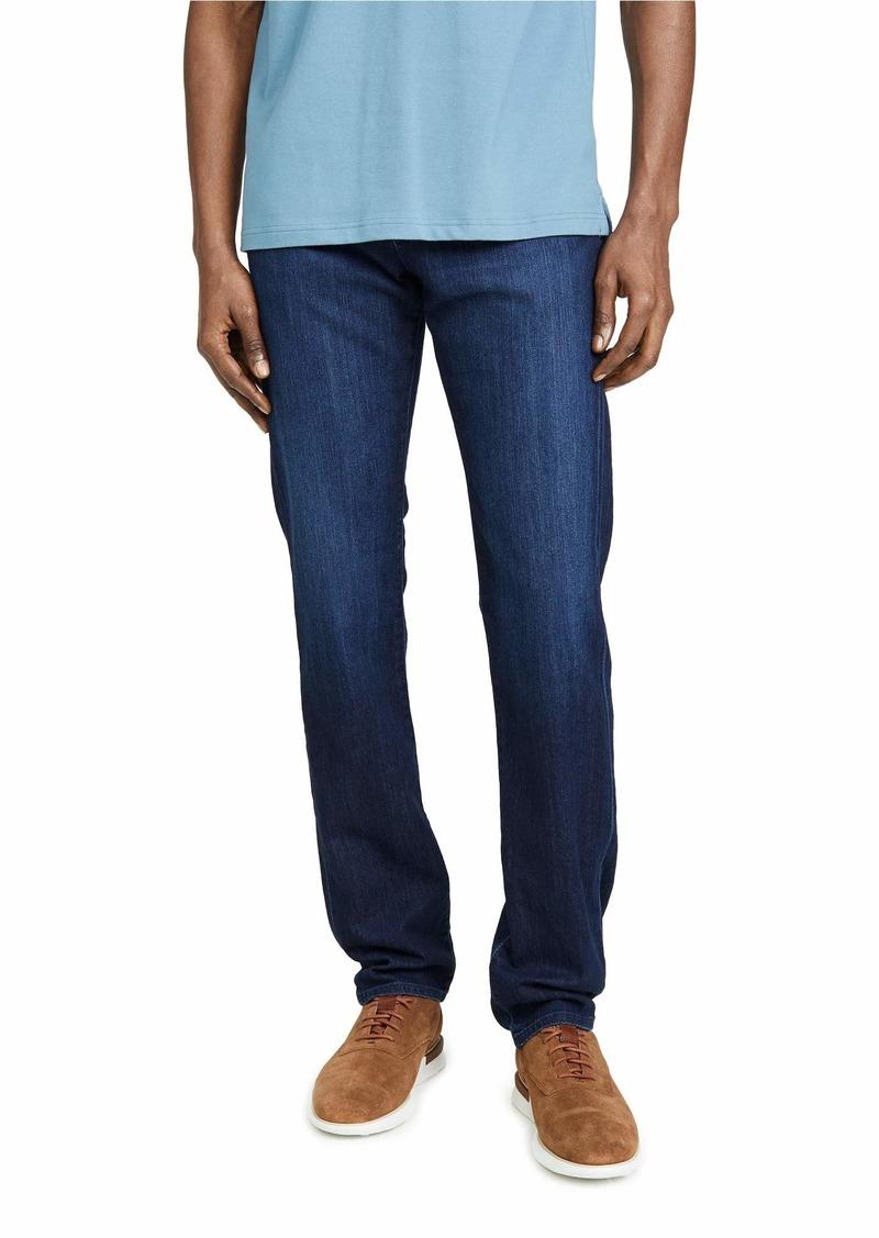 AG Adriano Goldschmied Men's The Everett Slim Straight Leg Jean in New Air Lux Denim