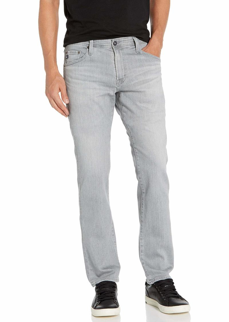 AG Adriano Goldschmied Men's The Graduate Tailored Leg Denim Jean  34W X 34L
