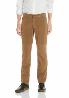 AG Adriano Goldschmied Men's The Graduate Tailored Leg Shift Stretch Moleskin Pant  38X34