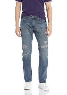 AG Adriano Goldschmied Men's The Matchbox Slim Straight Leg LGN Denim