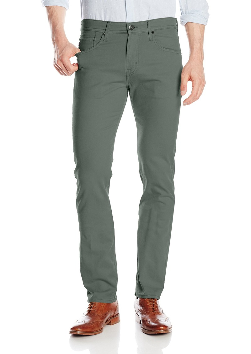 AG Adriano Goldschmied Men's The Matchbox Slim Straight Leg Twill Pant