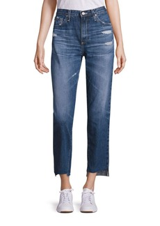 AG Adriano Goldschmied Phoebe High-Rise Step Hem Jeans