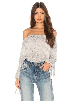 AG Adriano Goldschmied Sasha Top in Gray. - size L (also in M,S,XS)