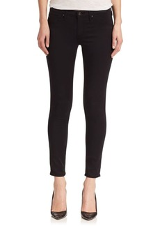 Sateen Legging Ankle Jeans