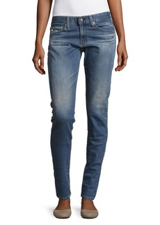AG Adriano Goldschmied Skinny-Fit Ankle-Length Jeans