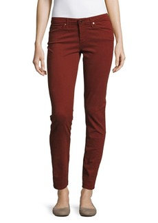 AG Adriano Goldschmied Solid Five-Pocket Jeans