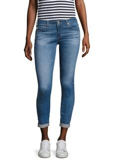 AG Adriano Goldschmied Stilt Roll-Up Raw Hem Jeans