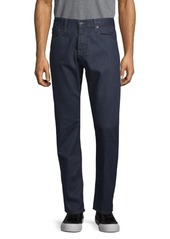AG Adriano Goldschmied Straight-Leg Cotton Jeans