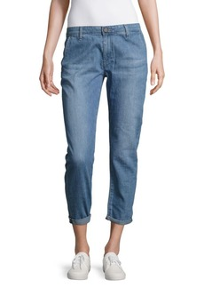 AG Adriano Goldschmied Tailored Rolled-Cuffs Jeans