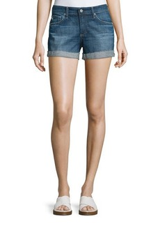 AG Adriano Goldschmied The Hailey Raw-Hem Shorts