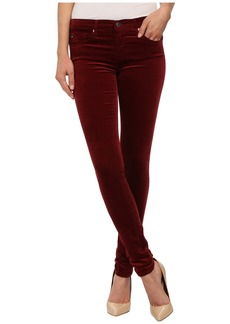 AG Adriano Goldschmied The Legging in Cabernet