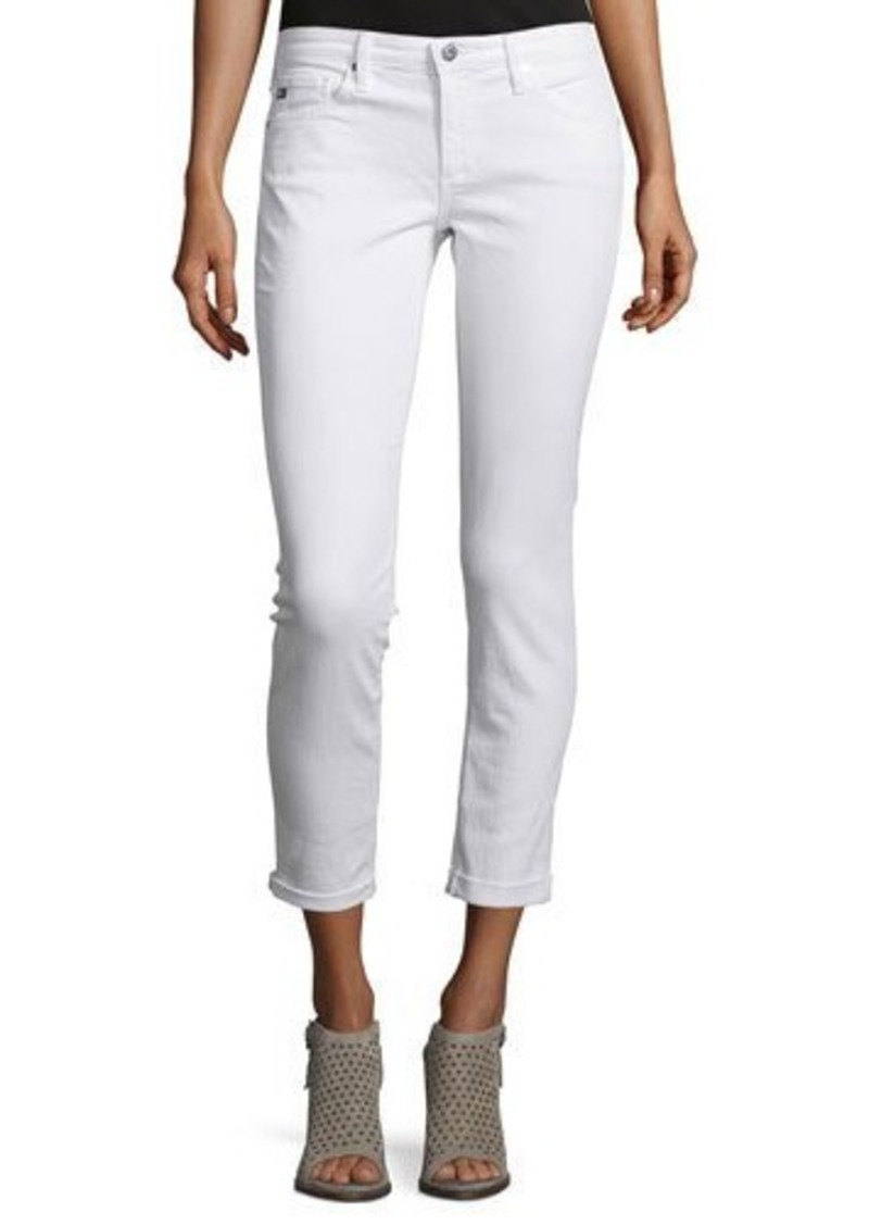 AG Adriano Goldschmied AG The Stilt Roll-Up Cropped Jeans