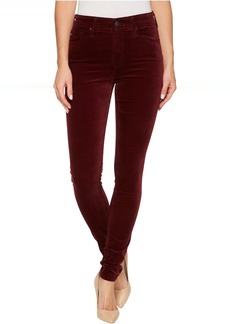 The Velvet Farrah Skinny in Deep Currant
